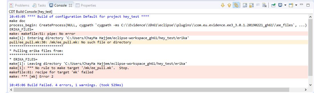 Eclipse IDE with ARIKA v3 (gh61) - ERIKA Enterprise Forums