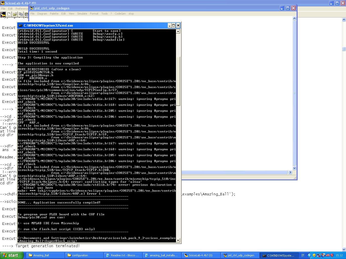 Problem Compiling With Udp Blocks Erika Enterprise Forums Microchip C Compiler Software