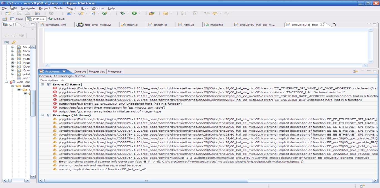 Webserver camera compilation error - ERIKA Enterprise Forums
